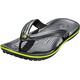 Crocs Crocband Flip Sandals Unisex Graphite/Volt Green